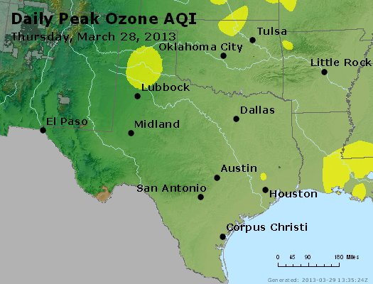 Peak Ozone (8-hour) - https://files.airnowtech.org/airnow/2013/20130328/peak_o3_tx_ok.jpg