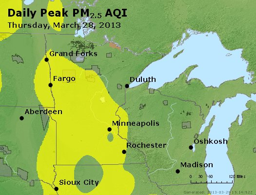 Peak Particles PM2.5 (24-hour) - https://files.airnowtech.org/airnow/2013/20130328/peak_pm25_mn_wi.jpg