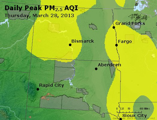 Peak Particles PM2.5 (24-hour) - https://files.airnowtech.org/airnow/2013/20130328/peak_pm25_nd_sd.jpg