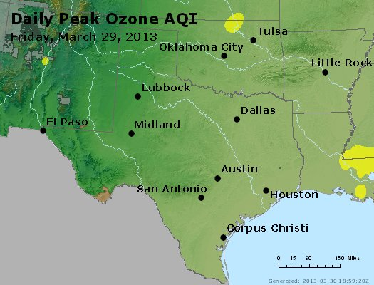 Peak Ozone (8-hour) - https://files.airnowtech.org/airnow/2013/20130329/peak_o3_tx_ok.jpg