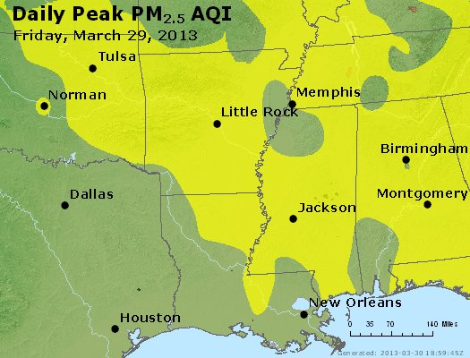 Peak Particles PM2.5 (24-hour) - https://files.airnowtech.org/airnow/2013/20130329/peak_pm25_ar_la_ms.jpg