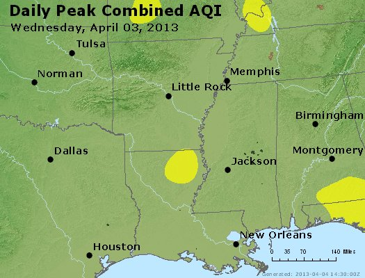 Peak AQI - https://files.airnowtech.org/airnow/2013/20130403/peak_aqi_ar_la_ms.jpg