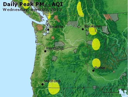 Peak Particles PM2.5 (24-hour) - https://files.airnowtech.org/airnow/2013/20130403/peak_pm25_wa_or.jpg