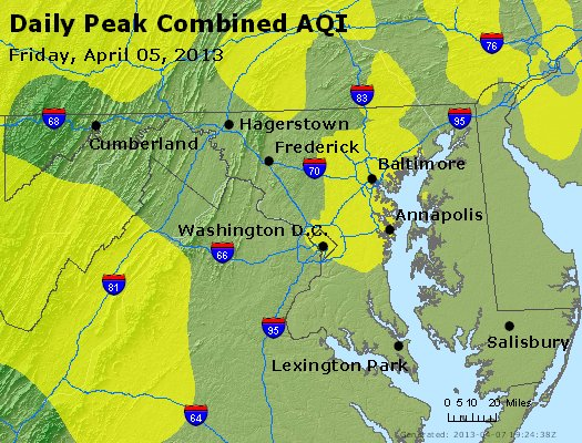 Peak AQI - https://files.airnowtech.org/airnow/2013/20130405/peak_aqi_maryland.jpg