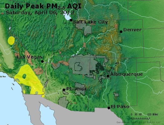 Peak Particles PM2.5 (24-hour) - https://files.airnowtech.org/airnow/2013/20130406/peak_pm25_co_ut_az_nm.jpg