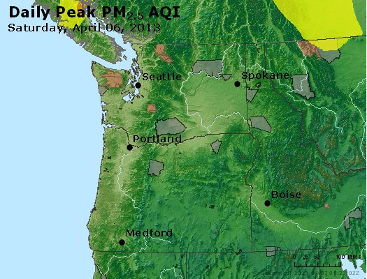 Peak Particles PM2.5 (24-hour) - https://files.airnowtech.org/airnow/2013/20130406/peak_pm25_wa_or.jpg