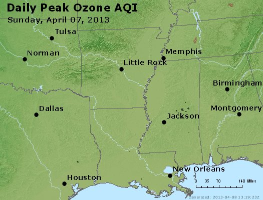 Peak Ozone (8-hour) - https://files.airnowtech.org/airnow/2013/20130407/peak_o3_ar_la_ms.jpg
