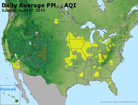 Peak Particles PM2.5 (24-hour) - https://files.airnowtech.org/airnow/2013/20130407/peak_pm25_usa.jpg