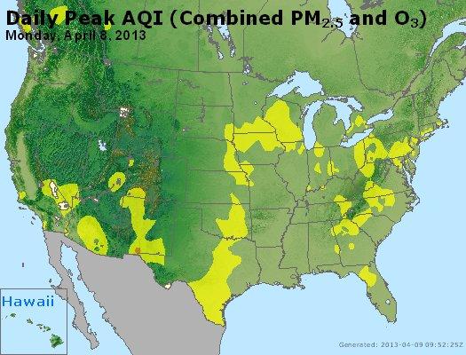 Peak AQI - https://files.airnowtech.org/airnow/2013/20130408/peak_aqi_usa.jpg