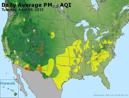 Peak Particles PM2.5 (24-hour) - https://files.airnowtech.org/airnow/2013/20130409/peak_pm25_usa.jpg