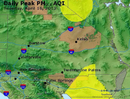 Peak Particles PM<sub>2.5</sub> (24-hour) - https://files.airnowtech.org/airnow/2013/20130416/peak_pm25_sanbernardino_ca.jpg