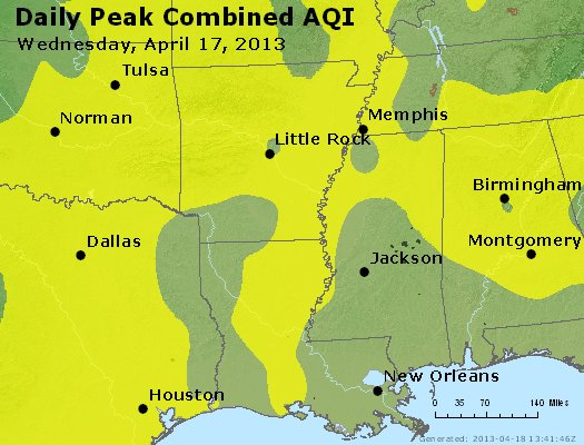 Peak AQI - https://files.airnowtech.org/airnow/2013/20130417/peak_aqi_ar_la_ms.jpg