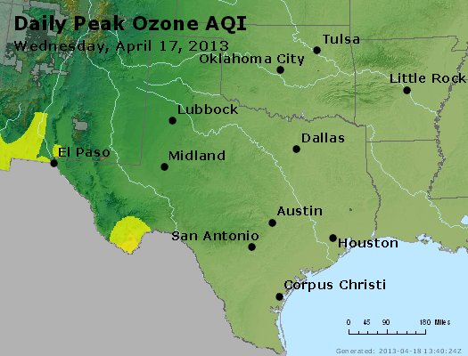 Peak Ozone (8-hour) - https://files.airnowtech.org/airnow/2013/20130417/peak_o3_tx_ok.jpg