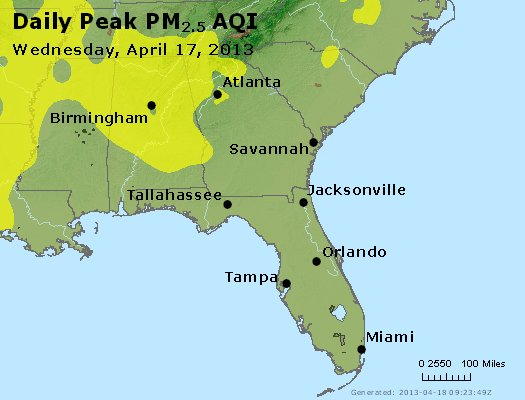 Peak Particles PM2.5 (24-hour) - https://files.airnowtech.org/airnow/2013/20130417/peak_pm25_al_ga_fl.jpg