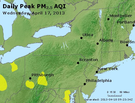 Peak Particles PM<sub>2.5</sub> (24-hour) - https://files.airnowtech.org/airnow/2013/20130417/peak_pm25_ny_pa_nj.jpg