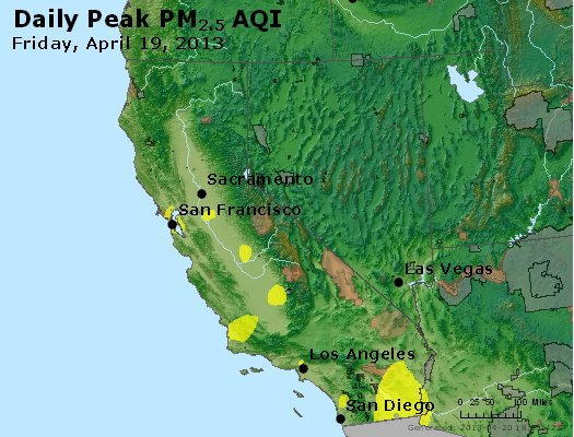 Peak Particles PM<sub>2.5</sub> (24-hour) - https://files.airnowtech.org/airnow/2013/20130419/peak_pm25_ca_nv.jpg