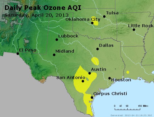 Peak Ozone (8-hour) - https://files.airnowtech.org/airnow/2013/20130420/peak_o3_tx_ok.jpg