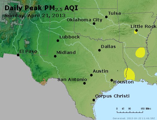 Peak Particles PM2.5 (24-hour) - https://files.airnowtech.org/airnow/2013/20130421/peak_pm25_tx_ok.jpg