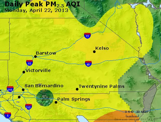 Peak Particles PM<sub>2.5</sub> (24-hour) - https://files.airnowtech.org/airnow/2013/20130422/peak_pm25_sanbernardino_ca.jpg