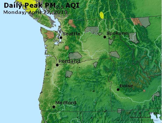 Peak Particles PM2.5 (24-hour) - https://files.airnowtech.org/airnow/2013/20130422/peak_pm25_wa_or.jpg