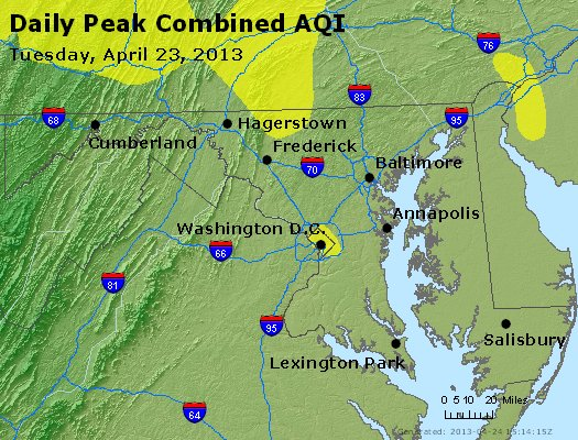 Peak AQI - https://files.airnowtech.org/airnow/2013/20130423/peak_aqi_maryland.jpg