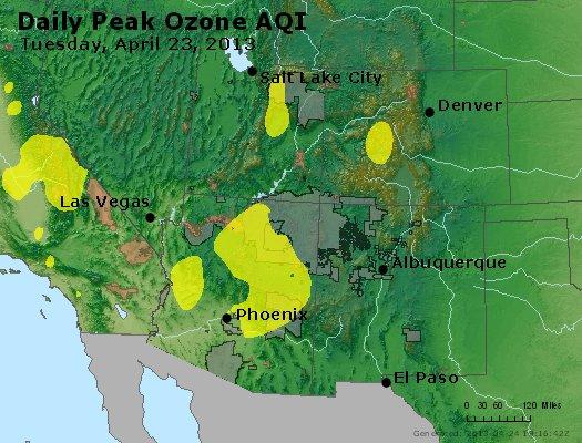 Peak Ozone (8-hour) - https://files.airnowtech.org/airnow/2013/20130423/peak_o3_co_ut_az_nm.jpg