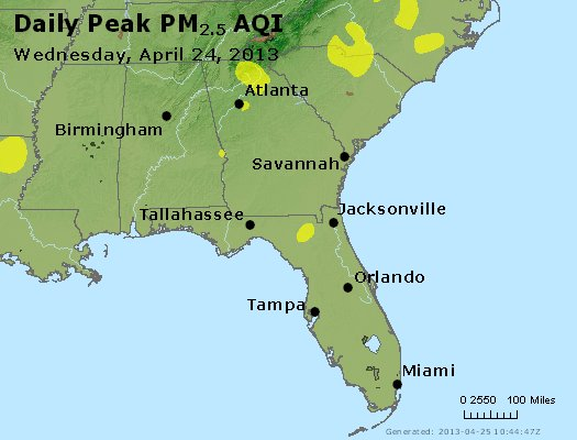 Peak Particles PM2.5 (24-hour) - https://files.airnowtech.org/airnow/2013/20130424/peak_pm25_al_ga_fl.jpg