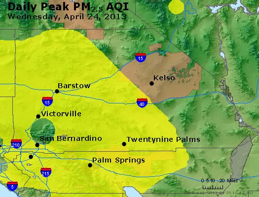 Peak Particles PM<sub>2.5</sub> (24-hour) - https://files.airnowtech.org/airnow/2013/20130424/peak_pm25_sanbernardino_ca.jpg