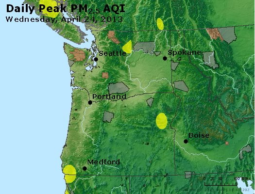 Peak Particles PM2.5 (24-hour) - https://files.airnowtech.org/airnow/2013/20130424/peak_pm25_wa_or.jpg
