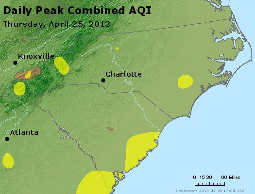 Peak AQI - https://files.airnowtech.org/airnow/2013/20130425/peak_aqi_nc_sc.jpg