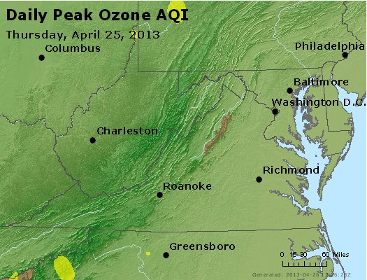 Peak Ozone (8-hour) - https://files.airnowtech.org/airnow/2013/20130425/peak_o3_va_wv_md_de_dc.jpg