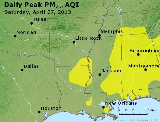 Peak Particles PM2.5 (24-hour) - https://files.airnowtech.org/airnow/2013/20130427/peak_pm25_ar_la_ms.jpg