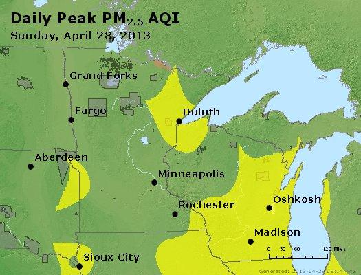 Peak Particles PM2.5 (24-hour) - https://files.airnowtech.org/airnow/2013/20130428/peak_pm25_mn_wi.jpg