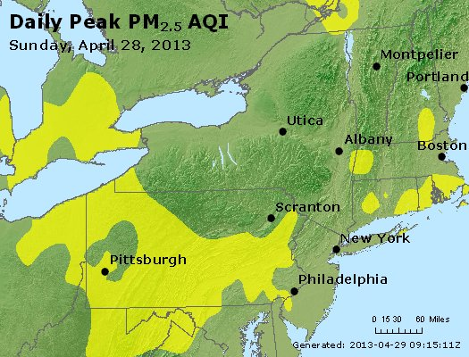 Peak Particles PM<sub>2.5</sub> (24-hour) - https://files.airnowtech.org/airnow/2013/20130428/peak_pm25_ny_pa_nj.jpg