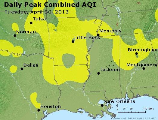 Peak AQI - https://files.airnowtech.org/airnow/2013/20130430/peak_aqi_ar_la_ms.jpg