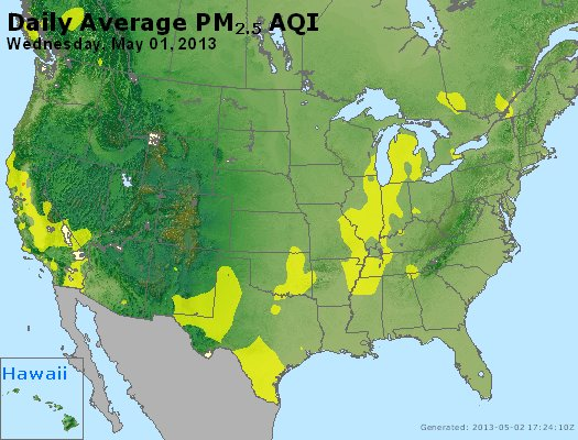 Peak Particles PM2.5 (24-hour) - https://files.airnowtech.org/airnow/2013/20130501/peak_pm25_usa.jpg