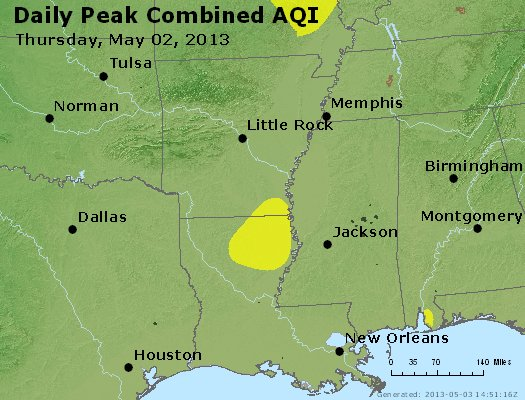 Peak AQI - https://files.airnowtech.org/airnow/2013/20130502/peak_aqi_ar_la_ms.jpg