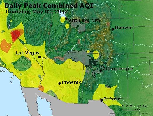 Peak AQI - https://files.airnowtech.org/airnow/2013/20130502/peak_aqi_co_ut_az_nm.jpg