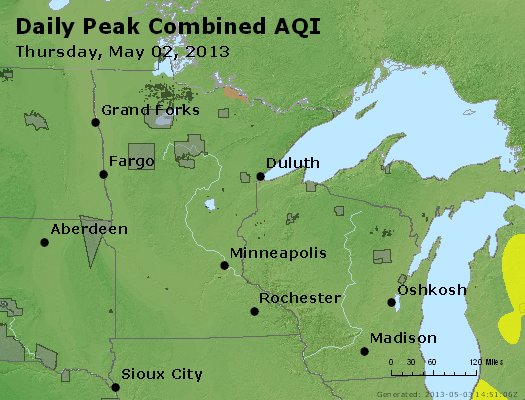 Peak AQI - https://files.airnowtech.org/airnow/2013/20130502/peak_aqi_mn_wi.jpg