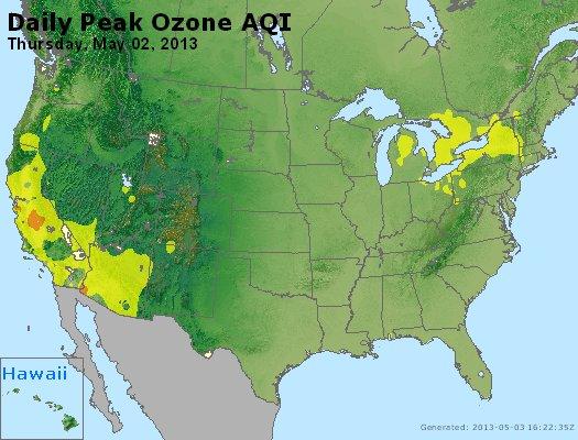 Peak Ozone (8-hour) - https://files.airnowtech.org/airnow/2013/20130502/peak_o3_usa.jpg