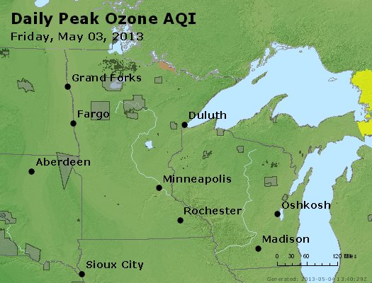Peak Ozone (8-hour) - https://files.airnowtech.org/airnow/2013/20130503/peak_o3_mn_wi.jpg