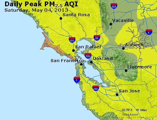 Peak Particles PM2.5 (24-hour) - https://files.airnowtech.org/airnow/2013/20130504/peak_pm25_sanfrancisco_ca.jpg