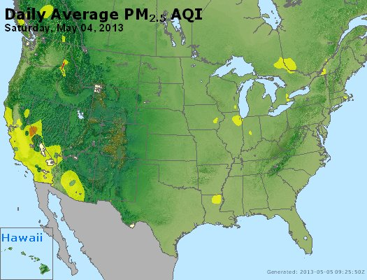 Peak Particles PM2.5 (24-hour) - https://files.airnowtech.org/airnow/2013/20130504/peak_pm25_usa.jpg