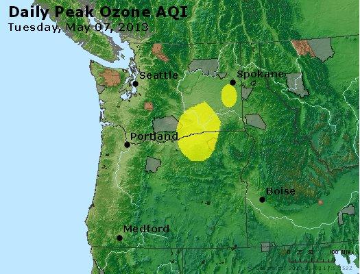 Peak Ozone (8-hour) - https://files.airnowtech.org/airnow/2013/20130507/peak_o3_wa_or.jpg