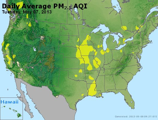 Peak Particles PM2.5 (24-hour) - https://files.airnowtech.org/airnow/2013/20130507/peak_pm25_usa.jpg