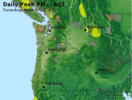 Peak Particles PM2.5 (24-hour) - https://files.airnowtech.org/airnow/2013/20130507/peak_pm25_wa_or.jpg