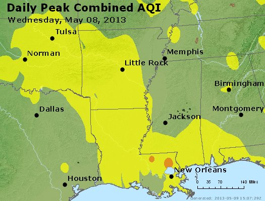 Peak AQI - https://files.airnowtech.org/airnow/2013/20130508/peak_aqi_ar_la_ms.jpg