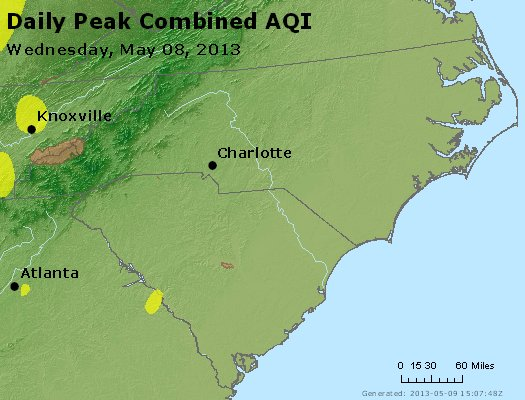 Peak AQI - https://files.airnowtech.org/airnow/2013/20130508/peak_aqi_nc_sc.jpg