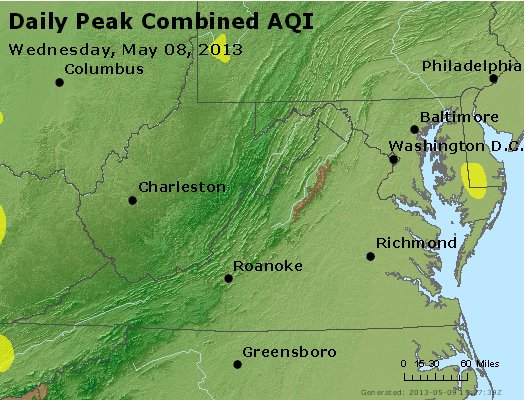 Peak AQI - https://files.airnowtech.org/airnow/2013/20130508/peak_aqi_va_wv_md_de_dc.jpg
