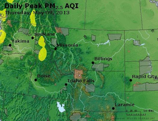 Peak Particles PM2.5 (24-hour) - https://files.airnowtech.org/airnow/2013/20130509/peak_pm25_mt_id_wy.jpg
